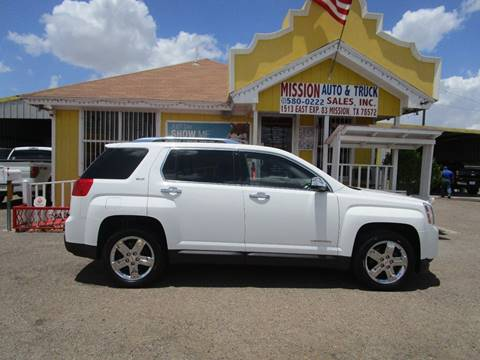 2013 GMC Terrain for sale at Mission Auto & Truck Sales, Inc. in Mission TX