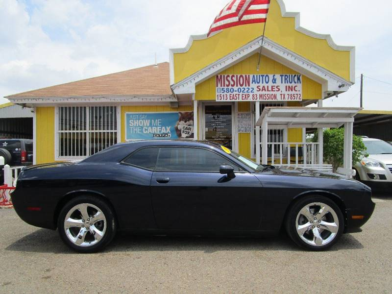 2012 Dodge Challenger for sale at Mission Auto & Truck Sales, Inc. in Mission TX