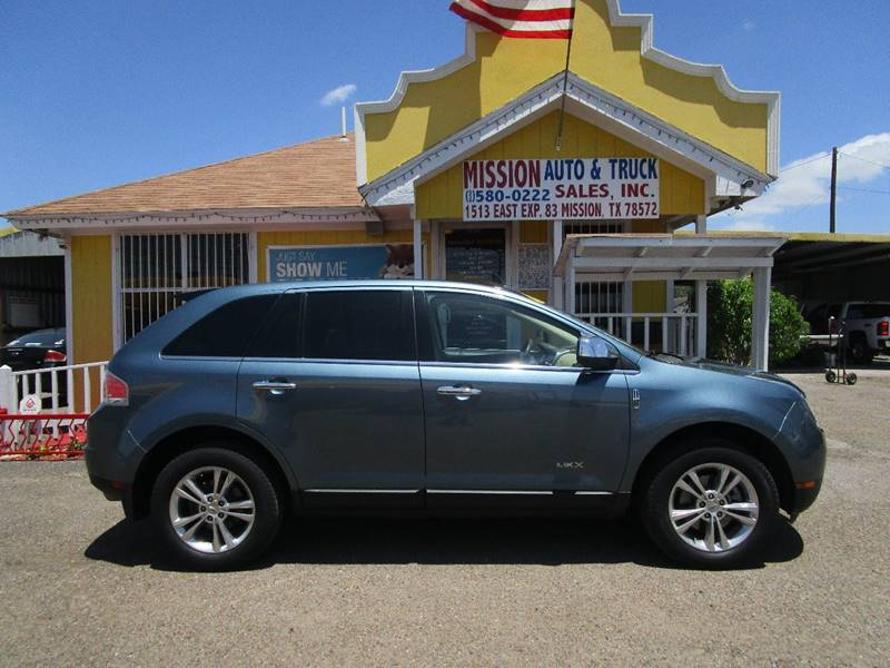 2010 Lincoln MKX for sale at Mission Auto & Truck Sales, Inc. in Mission TX