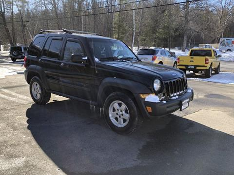 2007 Jeep Liberty for sale in Tilton, NH
