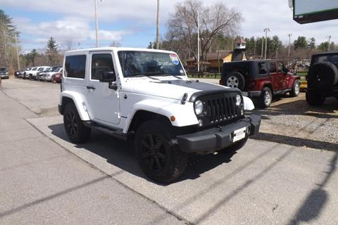 2014 Jeep Wrangler for sale in Tilton, NH
