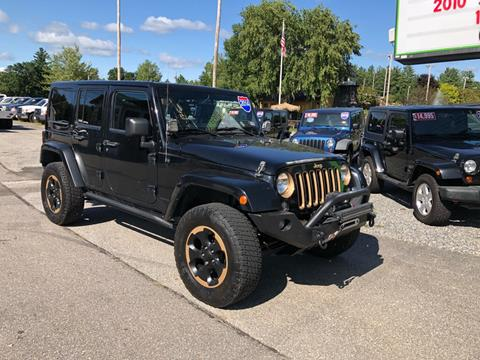 2014 Jeep Wrangler Unlimited for sale in Tilton, NH