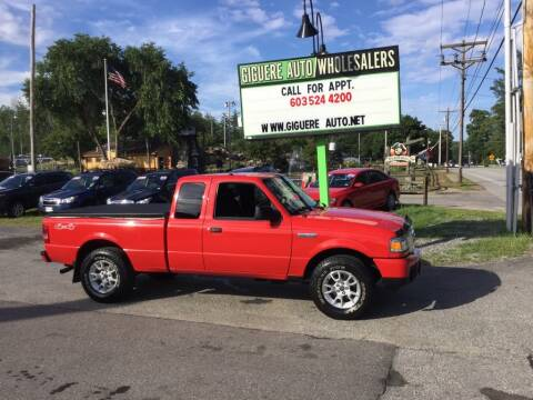 2008 Ford Ranger for sale at Giguere Auto Wholesalers in Tilton NH