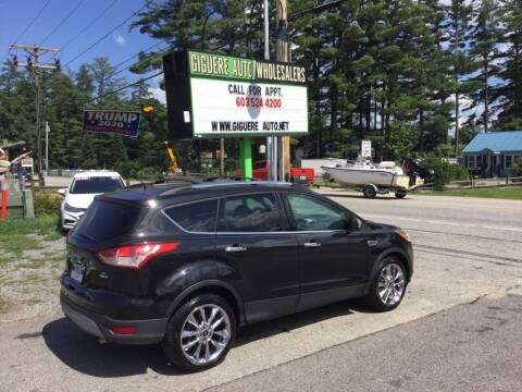 2015 Ford Escape for sale at Giguere Auto Wholesalers in Tilton NH