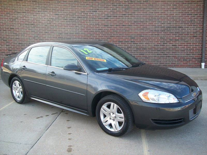 2012 Chevrolet Impala for sale at Cliff Bland & Sons Used Cars in El Dorado Springs MO
