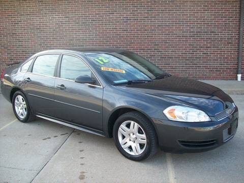 2012 Chevrolet Impala for sale at Cliff Bland & Sons Used Cars in El Dorado Spg MO