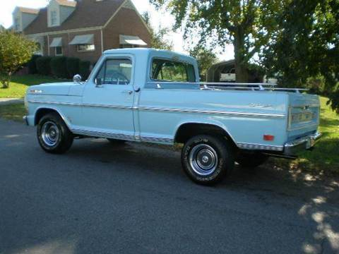 1968 Ford E-100 for sale at D & B Auto Sales & Service in Martinsville VA