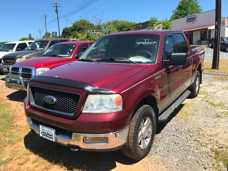 2004 Ford F-150 4dr SuperCrew XLT 4WD Styleside 5.5 ft. SB - Winston-Salem NC