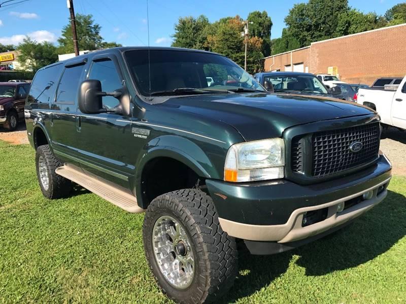 2003 Ford Excursion Limited 4WD 4dr SUV - Winston-Salem NC