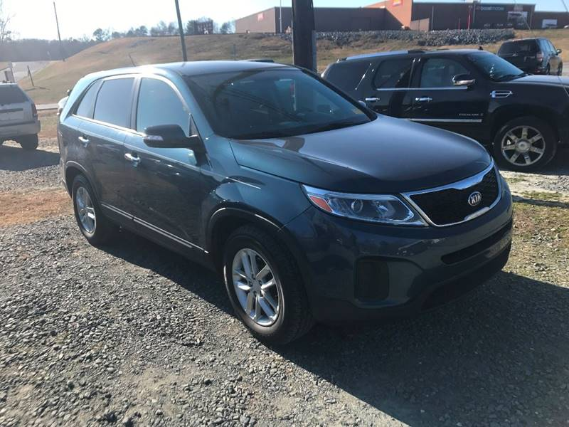 2014 kia sorento lx 4dr suv in winston salem nc clayton auto sales vehicle options sciox Gallery