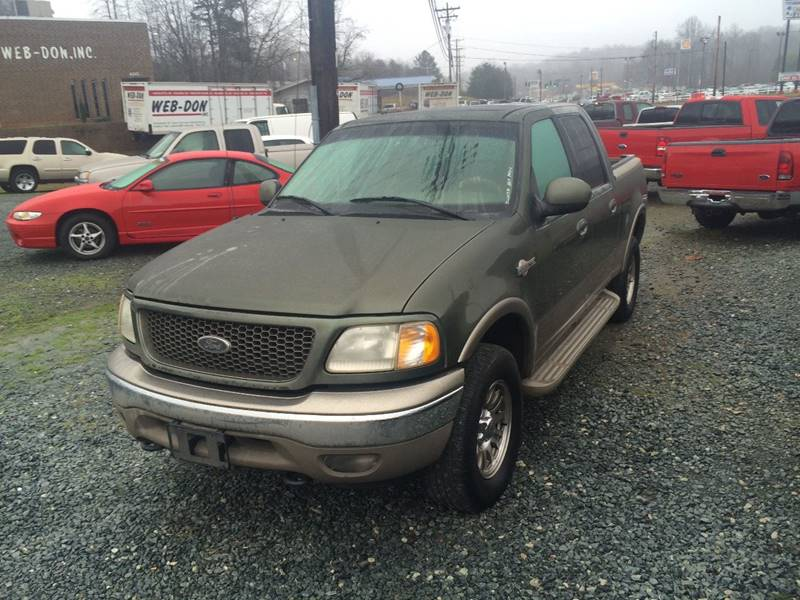 2001 Ford F-150 4dr SuperCrew King Ranch 4WD Styleside SB - Winston-Salem NC
