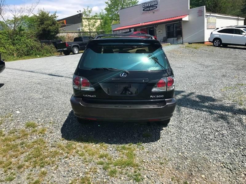 2002 Lexus RX 300 AWD 4dr SUV - Winston-Salem NC