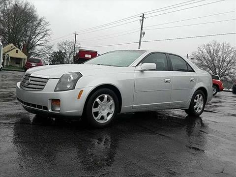 2003 Cadillac CTS for sale in Summerville, GA