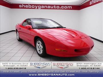 1996 Pontiac Firebird for sale in Sheboygan, WI