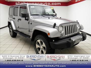 2017 Jeep Wrangler Unlimited for sale in Sheboygan, WI