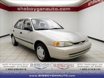 2001 Chevrolet Prizm for sale in Sheboygan, WI