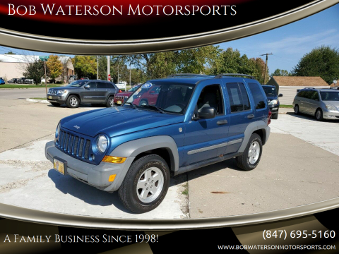 2005 Jeep Liberty for sale at Bob Waterson Motorsports in South Elgin IL