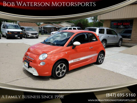 2013 FIAT 500e for sale at Bob Waterson Motorsports in South Elgin IL