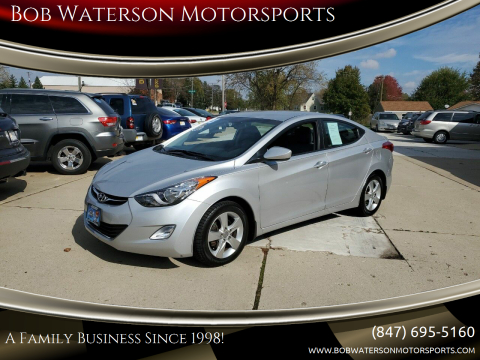 2013 Hyundai Elantra for sale at Bob Waterson Motorsports in South Elgin IL