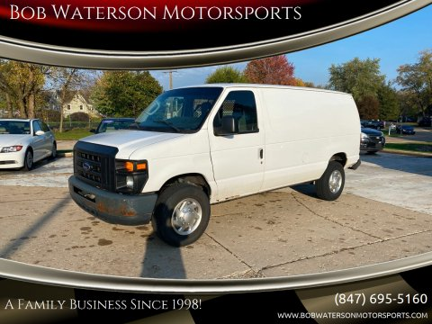 2012 Ford E-Series Cargo for sale at Bob Waterson Motorsports in South Elgin IL