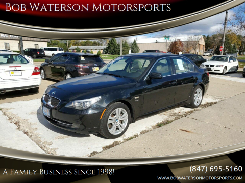 2010 BMW 5 Series for sale at Bob Waterson Motorsports in South Elgin IL