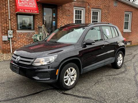 2017 Volkswagen Tiguan for sale at Ludlow Auto Sales in Ludlow MA