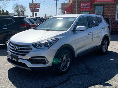 2017 Hyundai Santa Fe Sport for sale at Ludlow Auto Sales in Ludlow MA