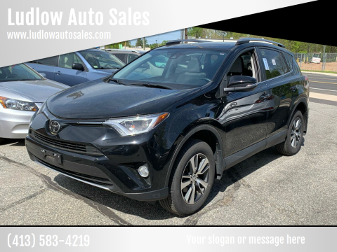 2017 Toyota RAV4 for sale at Ludlow Auto Sales in Ludlow MA