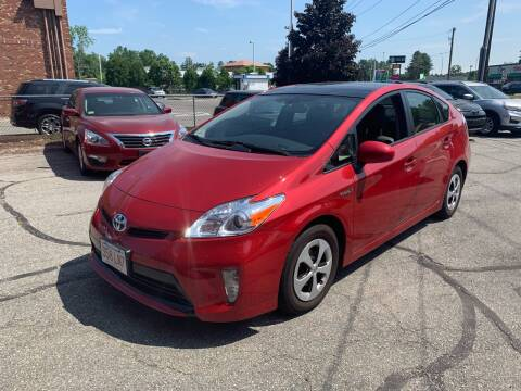 2015 Toyota Prius for sale at Ludlow Auto Sales in Ludlow MA