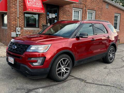 2017 Ford Explorer for sale at Ludlow Auto Sales in Ludlow MA
