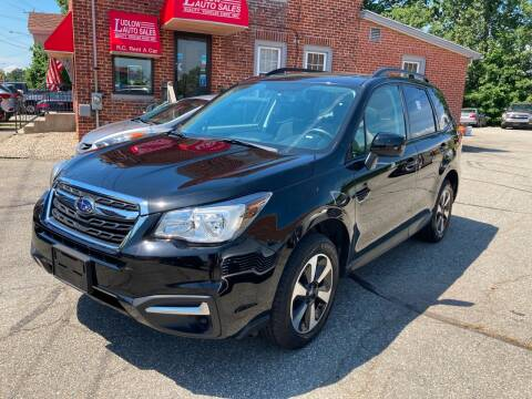 2017 Subaru Forester for sale at Ludlow Auto Sales in Ludlow MA