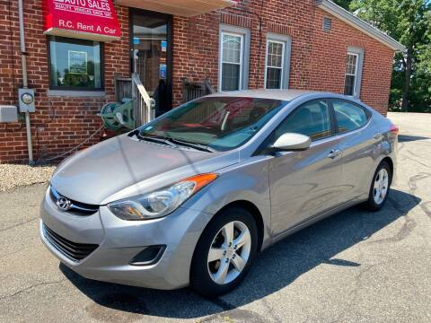 2011 Hyundai Elantra for sale at Ludlow Auto Sales in Ludlow MA