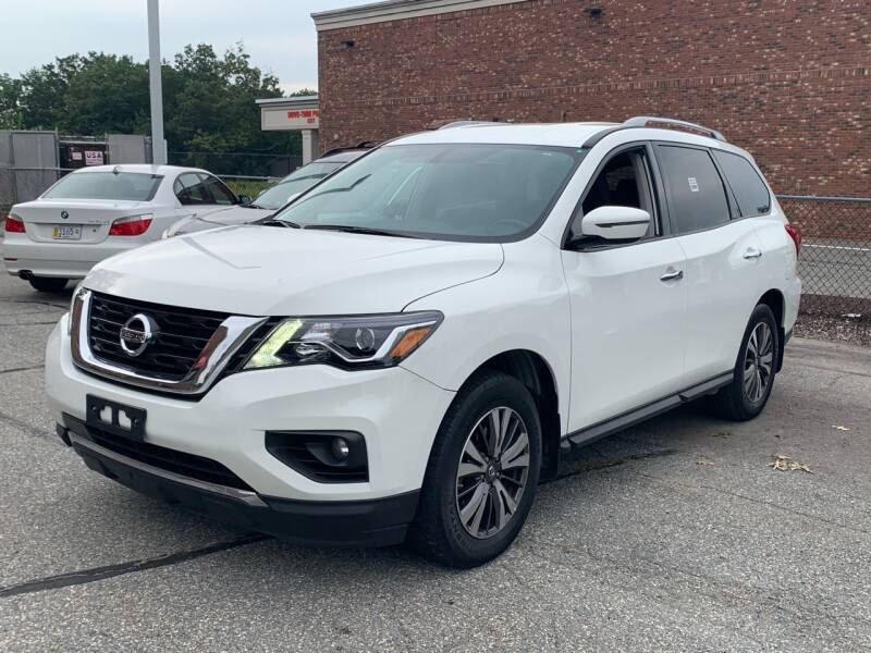 2017 Nissan Pathfinder for sale at Ludlow Auto Sales in Ludlow MA