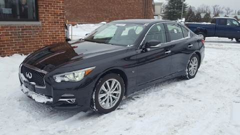 2014 Infiniti Q50 for sale at Ludlow Auto Sales in Ludlow MA