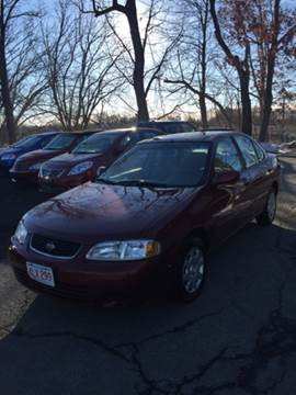 2002 Nissan Sentra for sale at Ludlow Auto Sales in Ludlow MA