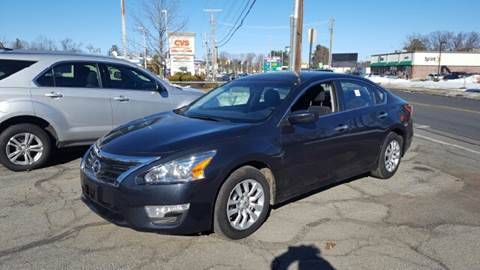 2014 Nissan Altima for sale at Ludlow Auto Sales in Ludlow MA