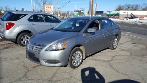 2014 Nissan Sentra for sale at Ludlow Auto Sales in Ludlow MA