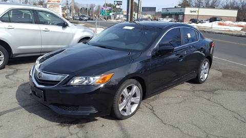 2014 Acura ILX for sale at Ludlow Auto Sales in Ludlow MA