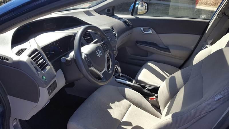 2012 Honda Civic EX 4dr Sedan - Ludlow MA