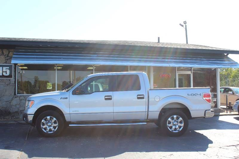2013 Ford F-150 4x4 XLT 4dr SuperCrew Styleside 5.5 ft. SB - Hendersonville TN