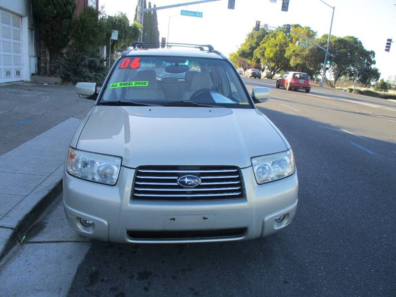 2006 subaru forester awd 2 5 x premium package 4dr wagon 4a in belmont ca west auto sales. Black Bedroom Furniture Sets. Home Design Ideas
