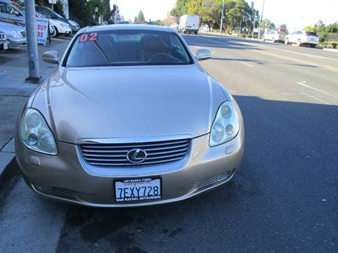 2002 Lexus SC 430 for sale in Belmont, CA