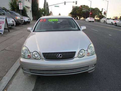 2003 Lexus GS 430 for sale in Belmont, CA