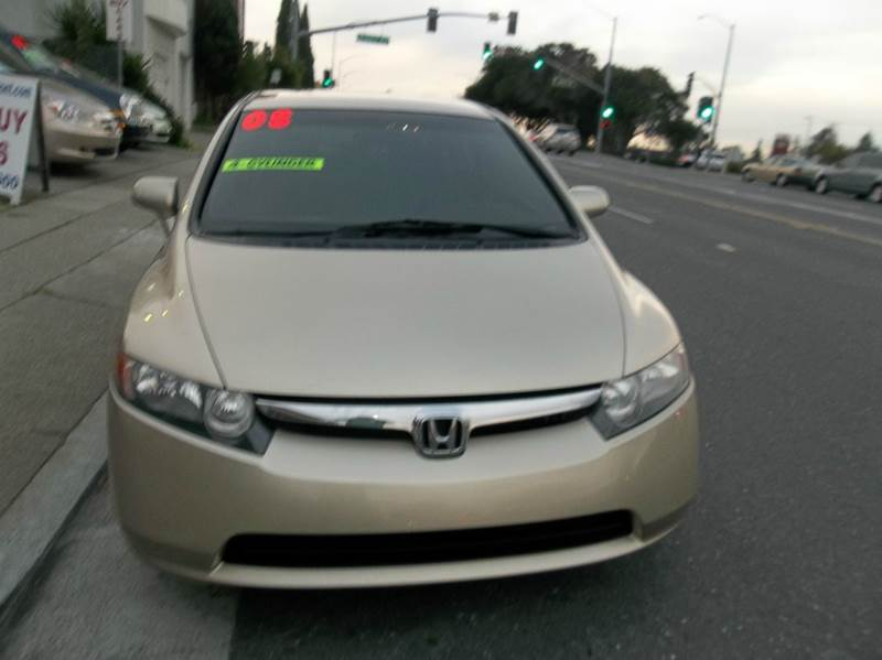 2008 honda civic lx 4dr sedan 5a in belmont ca west auto sales. Black Bedroom Furniture Sets. Home Design Ideas
