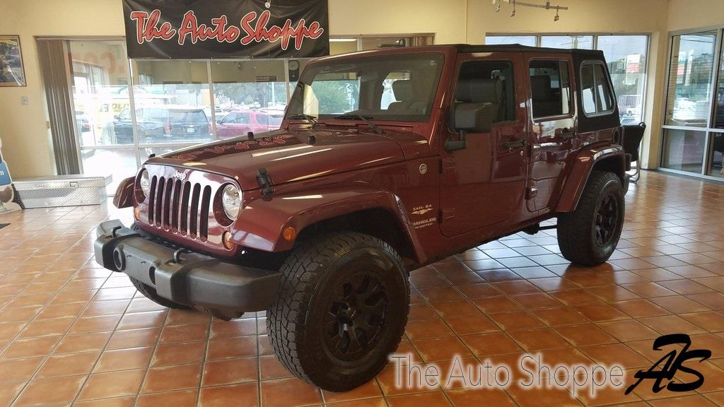 2010 Jeep Wrangler Unlimited for sale at The Auto Shoppe in Springfield MO