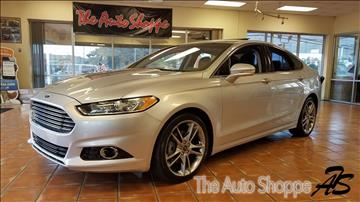 2013 Ford Fusion for sale at The Auto Shoppe in Springfield MO