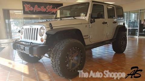 2012 Jeep Wrangler Unlimited for sale in Springfield MO