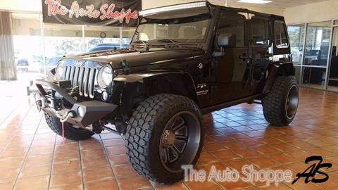 2016 Jeep Wrangler Unlimited for sale in Springfield, MO