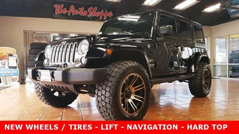 Used Jeep Wrangler Unlimited For Sale In Springfield Mo