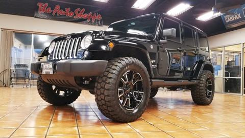 Jeep Wrangler Unlimited For Sale In Springfield Mo Carsforsale Com